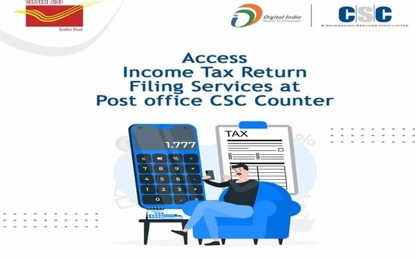 Good news for IT return filers! Now file tax returns from nearest post office