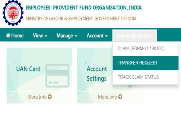 PF: Here's how you can transfer account online from unified EPFO member portal