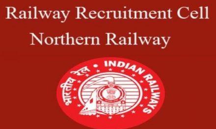 RRC Recruitment 2021: Northern Railway offers 3093 apprenticeship posts