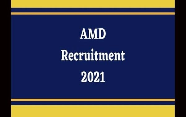 AMD recruitment 2021: Apply for 124 technician B & other vacancies