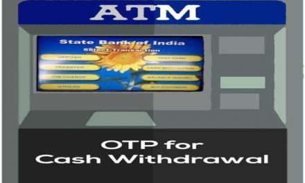 SBI offers OTP based cash withdrawal from ATM – Check procedure and benefits here